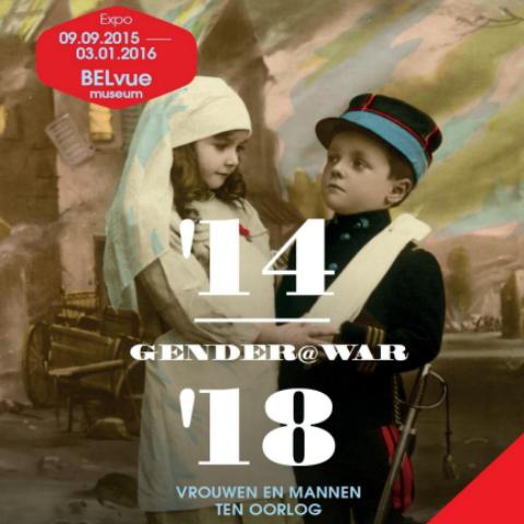 Musée Belvue    Exhibition: Gender@war 1914-1918 - women and men to war    until 03.01.2016